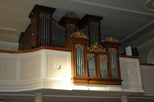 Orgue Callinet, église de Lutter