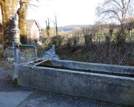 Fontaine, commune de Lutter